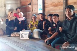 Komunitas GPS Sambas kembali sedekah sembako di Kecamatan Jawai