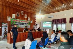 Kejari Tapsel sosialisasi garda desa di Angkola Muaratais