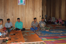 Warga Beringin Rayo undang Satgas TMMD untuk Yasinan