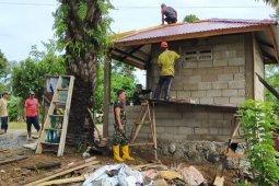 Satgas TMMD kebut pembangunan Pos Kamling desa