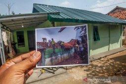 Pembangunan rumah tidak layak huni (RTLH) di Sukaraja Bogor