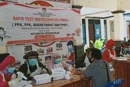 2.640 petugas penyelenggara Pilkada Ngawi jalani rapid test