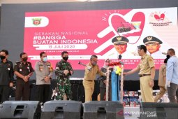 Walikota Samarinda launching gerakan Bangga Buatan Indonesia