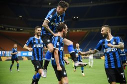 Inter Milan  duduki peringkat kedua klasemen setelah kalahkan Torino 3-1