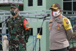 Sinergitas TNI-Polri, Polres dan Kodim 0207 Simalungun apel gabungan