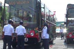 Bus Mabour siap antarkan berwisata keliling Kota Madiun