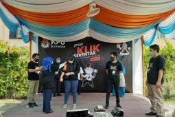 Gerakan Klik Serentak tandai awal coklit data pemilih di Kota Medan