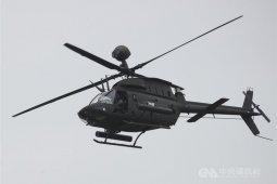 Helikopter militer jatuh saat latihan, dua tentara tewas