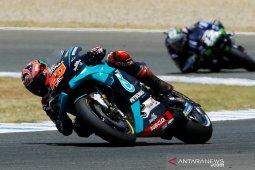 Quartararo rebut start terdepan GP Andalusia, Marquez menarik diri