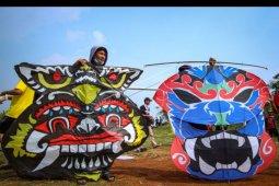 Kontes layang-layang di Tangerang