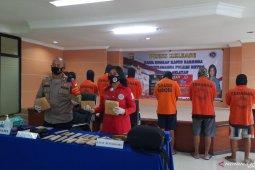 Police arrest seven drug syndicate members targeting students in Jakarta