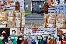 SKK Migas-KKKS Pamalu salurkan JPS untuk tenaga medis dan jurnalis di Ambon