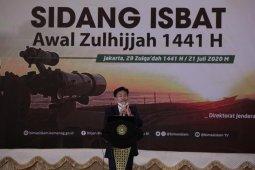 Kemenag: Idul Adha 1441 H jatuh pada 31 Juli