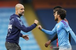 Manchester City benamkan Norwich jadi kado manis David Silva
