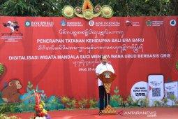 "Gubernur resmikan tatanan kehidupan Bali Era Baru di ""Monkey Forest"" Ubud"