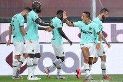 Inter Milan hancurkan Genoa tiga gol tanpa balas