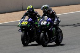 Tekanan Rossi ke Yamaha hasilkan podium pertama musim ini