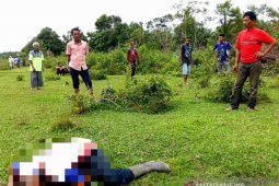 Jasad petani diduga korban pembunuhan di Aceh Barat mengenaskan,  ditangannya ada parang