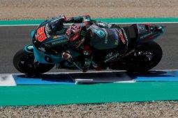 Quartararo raih juara GP Andalusia, Yamaha sapu bersih podium