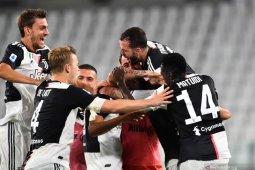 Kalahkan Sampdoria, Juve amankan gelar juara Liga Italia