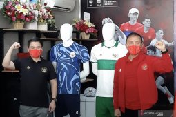 PSSI apresiasi jersey tandang timnas bertema Khatulistiwa