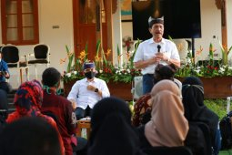 Menko Luhut ajak kementerian dan BUMN untuk akselerasi pengembangan pariwisata Banyuwangi