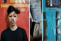 Mahasiswa edarkan tembakau gorila ditangkap polisi