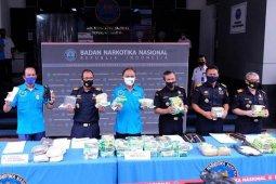 Bea Cukai gagalkan penyelundupan 16,7 kilogram sabu