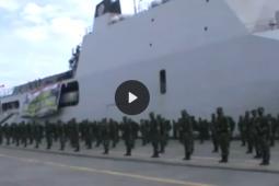 Ketibaan pasukan purnatugas di Papua