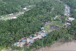 Dua kampung pesisir Mimika terendam banjir