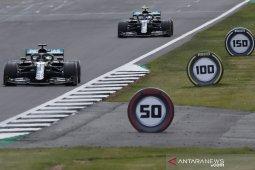 Formula 1: Hamilton lanjutkan dominasi Mercedes di Silverstone