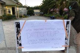 Dua Puskemas di Nagan Raya ditutup pasca rawat pasien positif COVID-19