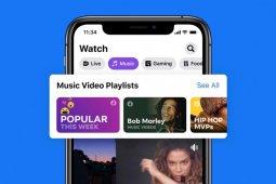 Facebook menambah fitur video musik saingi YouTube