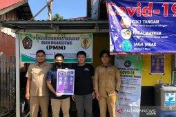 Mahasiswa UMM dan Desa Benawa Tengah kerja sama cegah COVID-19