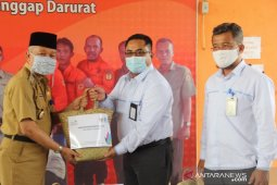 Bupati HST terima bantuan CSR BUMN berupa 100 paket sembako