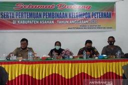 Calon penerima bantuan hibah ternak Asahan dibekali penyuluhan hukum