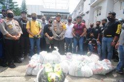 Kapolda Kalsel: 200 kilogram sabu-sabu jaringan Malaysia