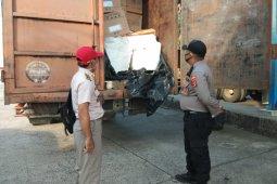 Petugas gagalkan penyelundupan 1,1 ton daging celeng di Lampung