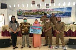 BPJAMSOSTEK Cabang Padang Sidempuan serahkan santunan JKM Rp42 juta