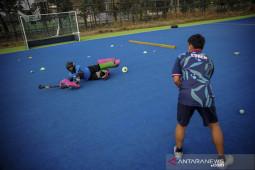 Latihan bersama Pelatda Hoki Jabar