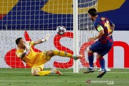 Tundukkan Napoli 3-1, Barcelona amankan tiket perempat final