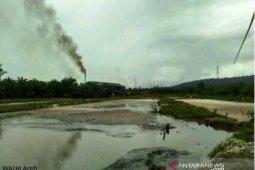 Walhi desak KLH Aceh usut pencemaran limbah PKS di Nagan Raya