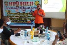 Basarnas Sorong gelar coffe morning bersama Wartawan