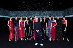 Rumah mode Giorgio Armani kembali gelar pagelaran busana tanpa penonton