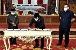 DPRD-Pemprov sepakati KUPA-PPAS perubahan 2020