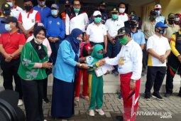 Bupati Gorontalo Utara yakinkan olahraga dapat meningkatkan perekonomian