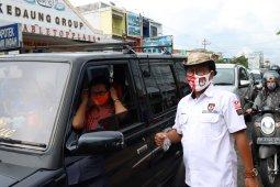 KPU Jambi sebar brosur berisi informasi pilkada serentak, minta warga siapkan masker untuk ke TPS