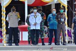 Polda Gorontalo bagikan 50.000 masker untuk masyarakat