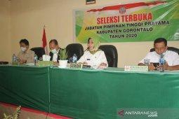 Pemkab Gorontalo membuka seleksi jabatan pimpinan tinggi pratama