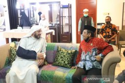 Jenguk Syekh Ali Jaber, Mahfud pastikan proses hukum tuntas